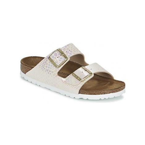 Birkenstock ARIZONA women's Mules / Casual Shoes in Gold