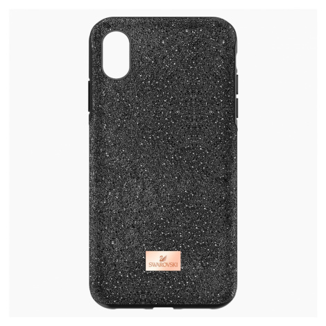 High Smartphone Case with Bumper, iPhone® XR, Black Swarovski
