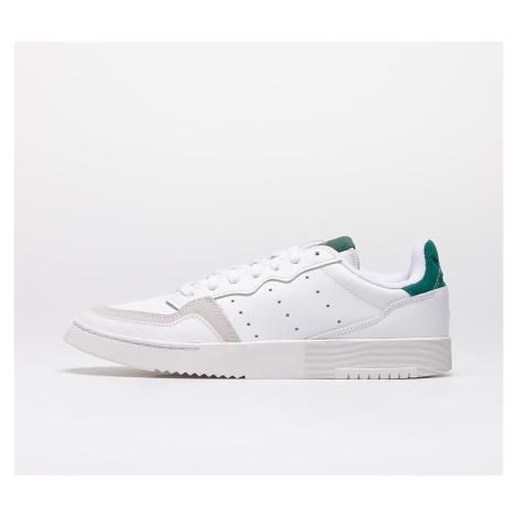 adidas Supercourt Ftw White/ Ftw White/ Core Green