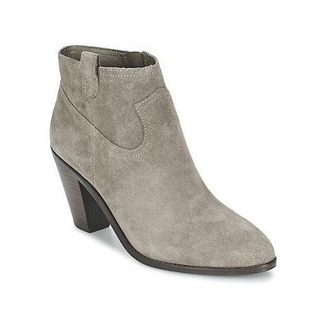 Ash IVANA women's Low Ankle Boots in Grey
