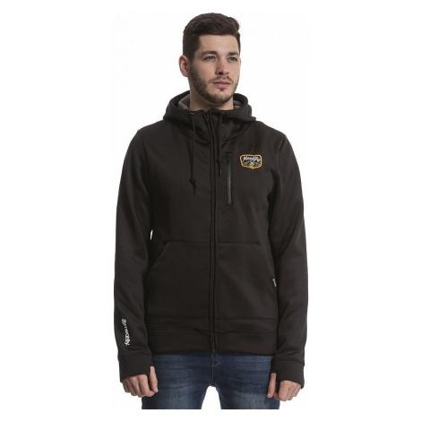 sweatshirt Meatfly Gonner Zip - C/Black - men´s