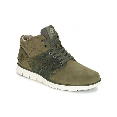 Timberland Bradstreet Half Cab men's Shoes (High-top Trainers) in Green