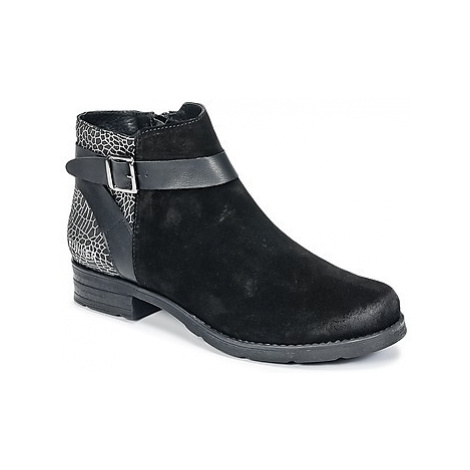 Bunker COTO women's Mid Boots in Black