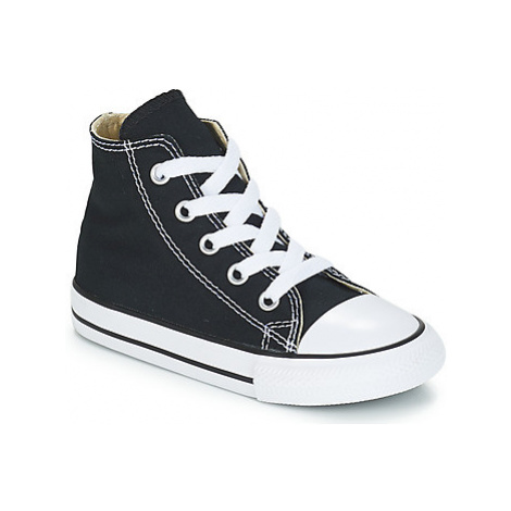 Converse ALL STAR HI girls's Children's Shoes (High-top Trainers) in Black