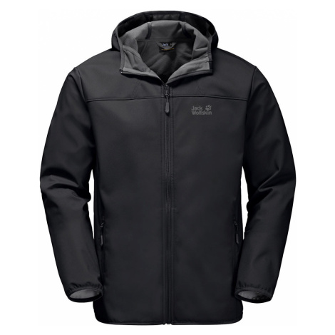 Jack Wolfskin Mens Northern Point Softshell Jacket - Black - 2XL