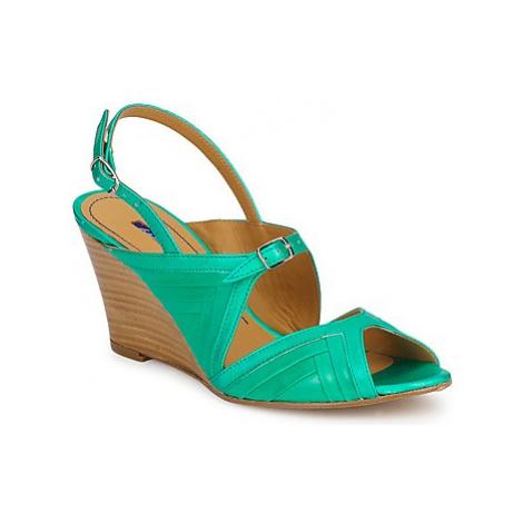 Atelier Voisin VIRGIN women's Sandals in Green