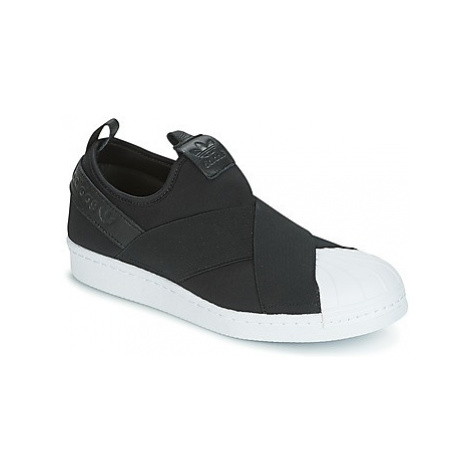 Adidas SUPERSTAR SLIPON women's Shoes (Trainers) in Black