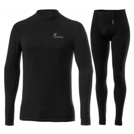 Klimatex CALUM black - Men's functional undergarment set