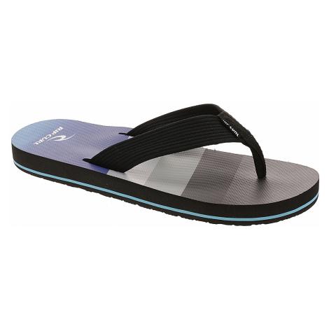 flip flops Rip Curl Bob Cush - Black/Gray Aqua - men´s