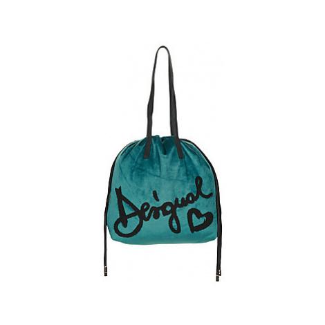 Desigual MISS VELVET TALLIN women's Shoulder Bag in Blue