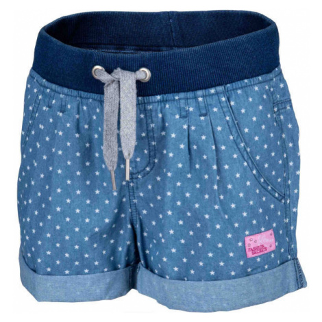 Lewro LAILA dark blue - Girls' shorts