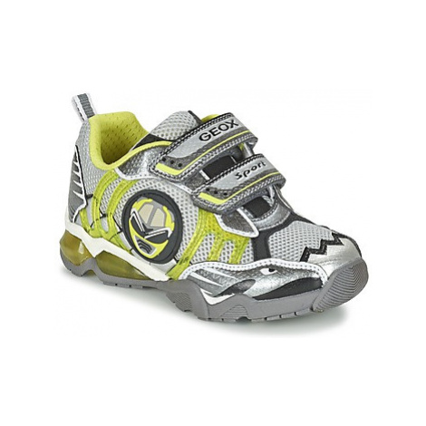 Geox J SHUTTLE B. B boys's Children's Shoes (Trainers) in Grey