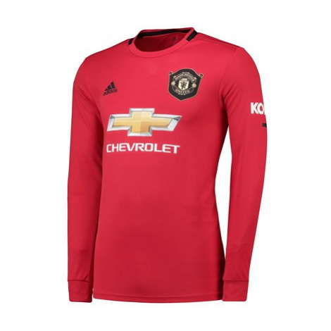 Manchester United Home Shirt 2019 - 20 - Long Sleeve Adidas