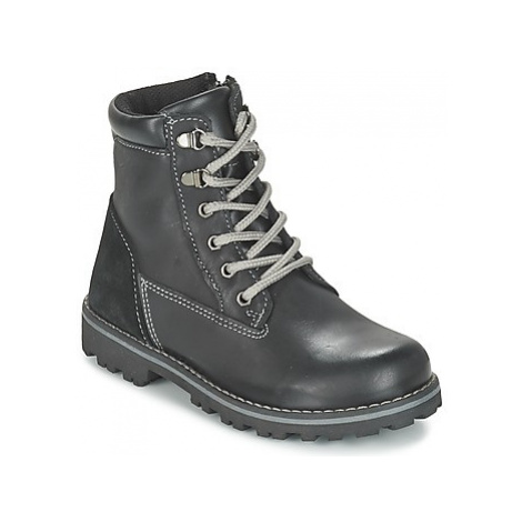 Citrouille et Compagnie FACOSA boys's Children's Mid Boots in Black