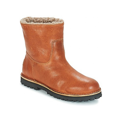 Shabbies KAOL women's Mid Boots in Brown