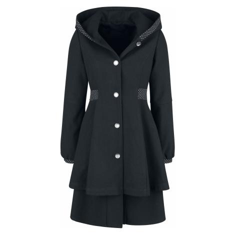 Pussy Deluxe - Pretty Dotties Girl Coat - Girls coat - black