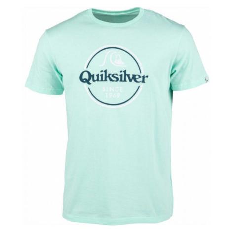 Quiksilver WORDS REMAIN SS blue - Men's T-shirt