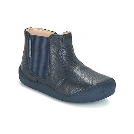 Start Rite FIRST CHELSEA girls's Children's Mid Boots in Blue