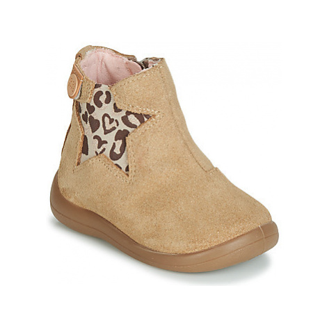 Gioseppo BARROW girls's Children's Mid Boots in Beige
