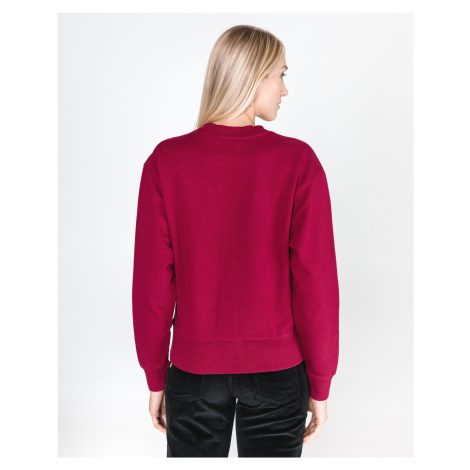 Calvin Klein Monogram Sweatshirt Red