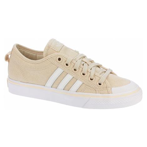 shoes adidas Originals Nizza - Linen/White/White