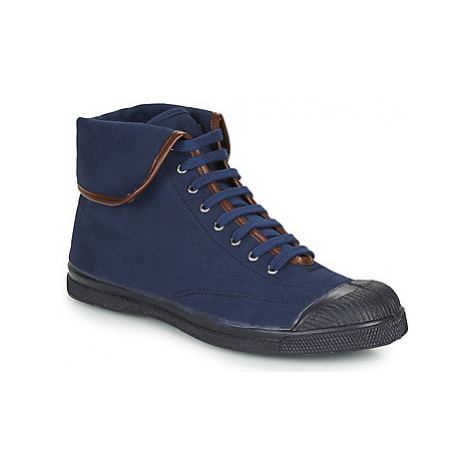Bensimon TENNIS STEFFI women's Shoes (High-top Trainers) in Blue