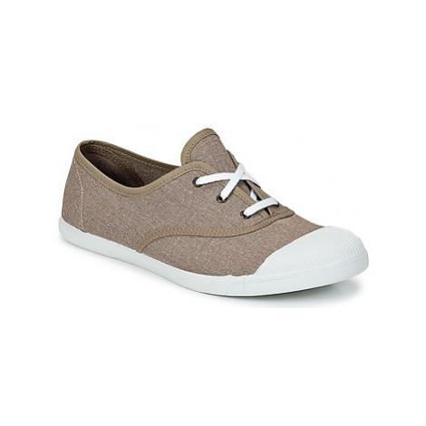 Yurban APOLINIA women's Shoes (Trainers) in Beige
