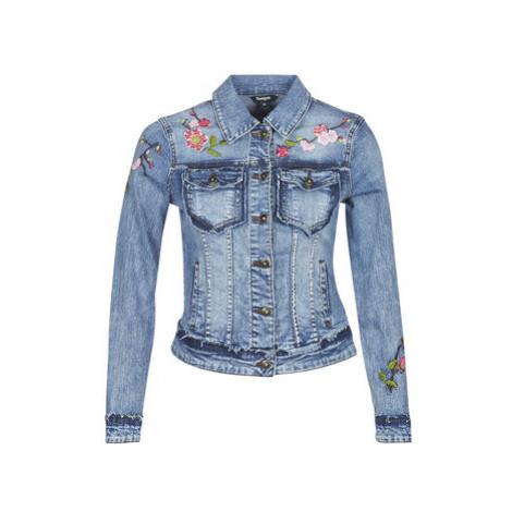 Desigual FLANDES women's Denim jacket in Blue