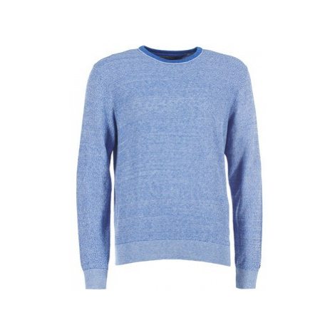 Tommy Hilfiger TWISTED CTN STRUCTURED men's Sweater in Blue