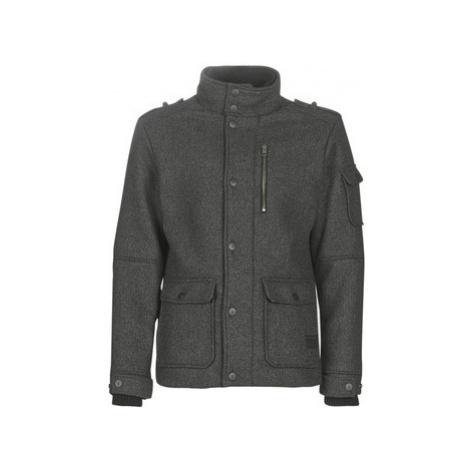 Grey men's coats, parkas and trench coats