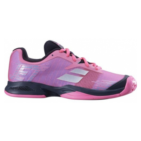 Babolat JET JR ALL COURT pink - Kids' tennis shoes