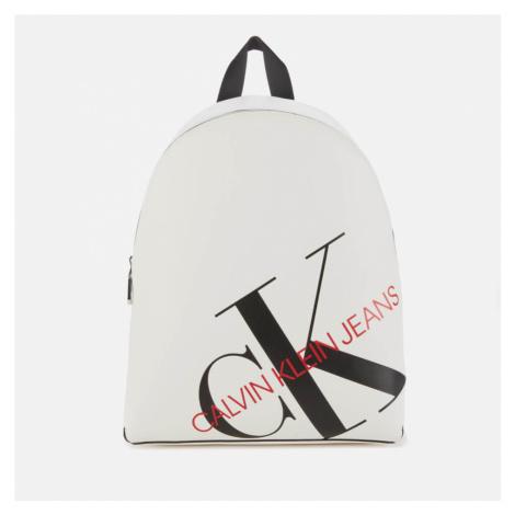 Calvin Klein Jeans Women's Logo Backpack - Bright White