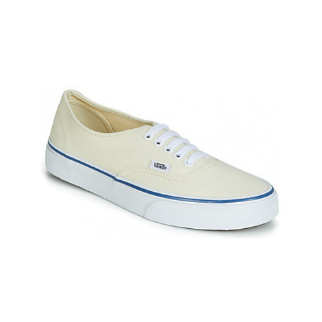 Vans AUTHENTIC women's Shoes (Trainers) in Yellow