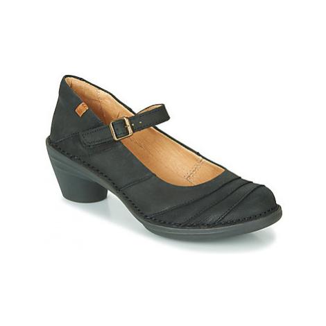 El Naturalista AQUA women's Court Shoes in Black