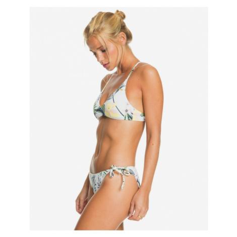 Roxy Bloom Athletic Swimsuit White