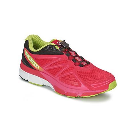 Salomon X-SCREAM 3D WOMAN women's Running Trainers in Pink