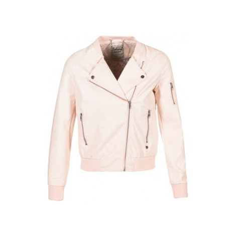 Kaporal ALARE women's Leather jacket in Pink
