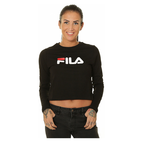 T-Shirt Fila Marceline Cropped LS - Black - women´s