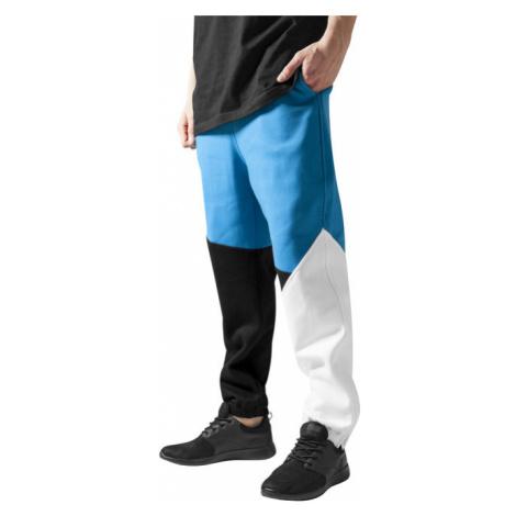 Urban Classics Zig Zag Sweatpants blk/tur/wh