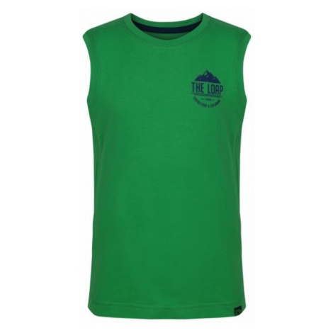 Loap IKRUSO green - Kids' tank top