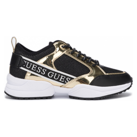 Guess Sneakers Black Gold