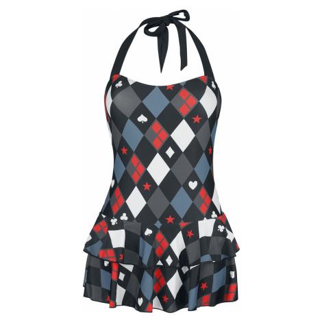 Harley Quinn Diamond Swimsuit multicolour