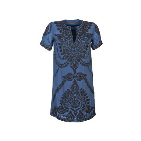 Antik Batik ISIS women's Dress in Blue