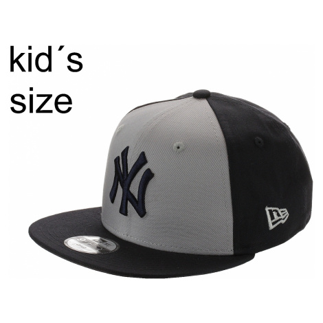 cap New Era 9FI Character Front MLB New York Yankees Child - Gray/Navy - kid´s