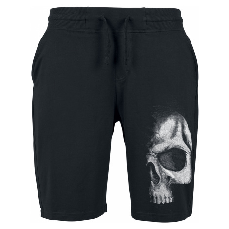 Spiral - Shadow Skull - Shorts - black