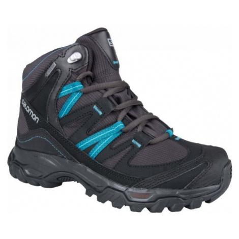 Salomon MUDSTONE MID 2 GTX W black - Women's hiking shoes