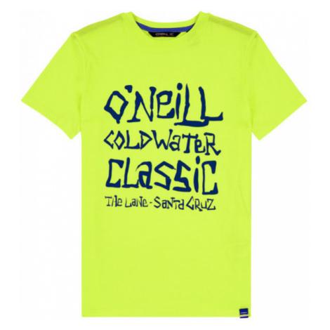 O'Neill LB COLD WATER CLASSIC T-SHIRT yellow - Boys' T-shirt
