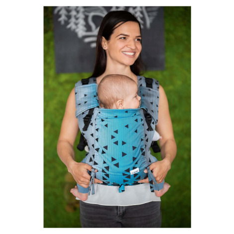 Baby carrier - Be Lenka Mini - Triangle - Sapphire classic without the possibility of crossing