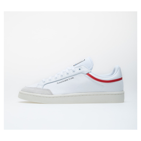 adidas Americana Low Ftw White/ Glow Red/ Core White