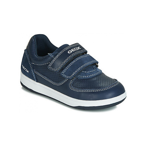 Geox B NEW FLICK BOY boys's Children's Shoes (Trainers) in Blue